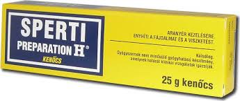 Sperti Preparation H végbélkenőcs 25g