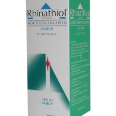 Rhinathiol 1,33 mg-ml kohogescsillapito szirup felnott 200ml