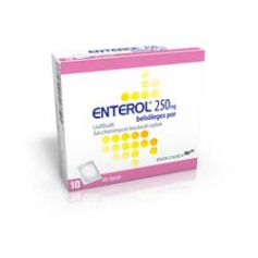 Enterol 250mg bels. por 10x