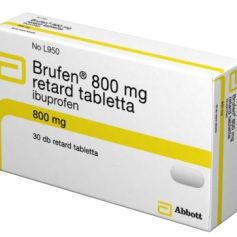 brufen 800mg retard tabletta 30x